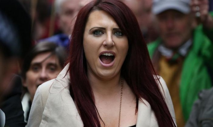 Jayda Fransen didn't have the minerals to take on Julia Hartley-Brewer.