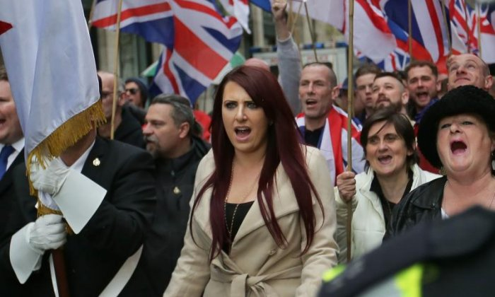 Jayda Fransen said she has beaten the police who tried to imprison her