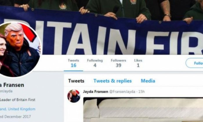 Fransen appears to have found a way to get round her Twitter ban