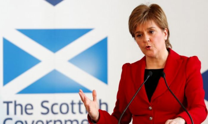 Nicola Sturgeon had some harsh words for the Scottish Conservatives