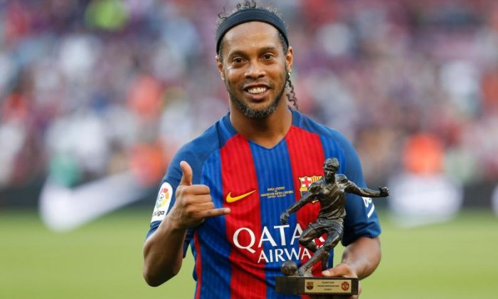 Ronaldinho was known for his playboy lifestyle as a player