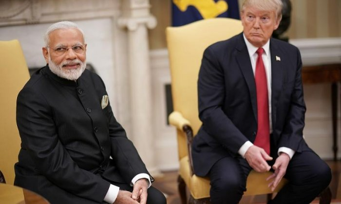 Donald Trump 'heard doing racist impression of Indian Prime Minister'