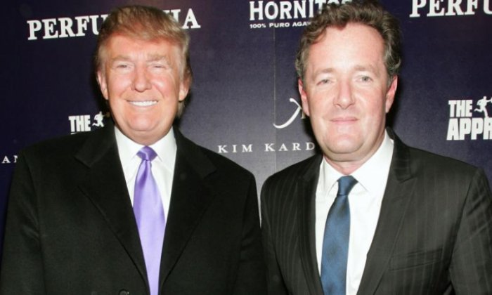 Piers Morgan tells talkRADIO 'The Donald Trump-haters wouldn't have been happy even if I'd physically battered him'