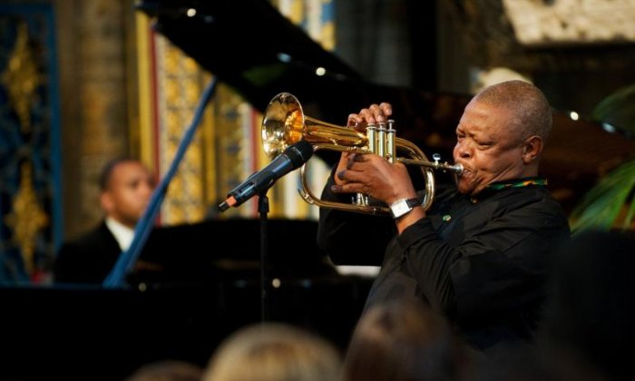 Jeremy Corbyn and Diane Abbott lead tributes to jazz trumpeter Hugh Masekela