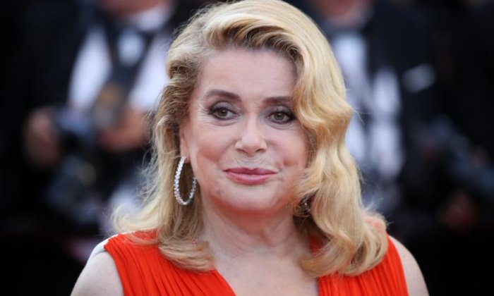 Catherine Deneuve has sparked fury this morning