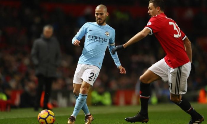 David Silva explains Manchester City absence down to premature birth of son