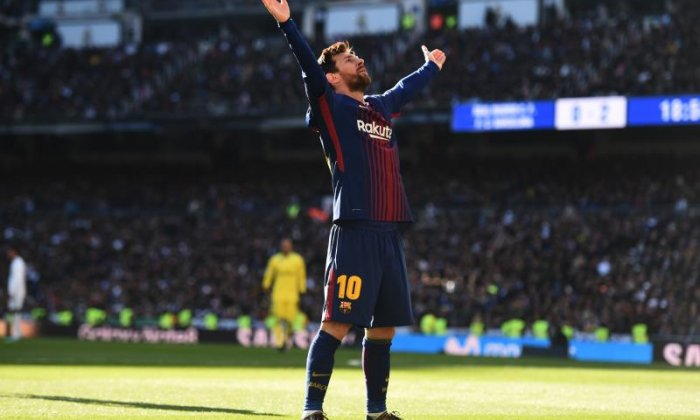 Messi, Suarez on target in routine Barca win