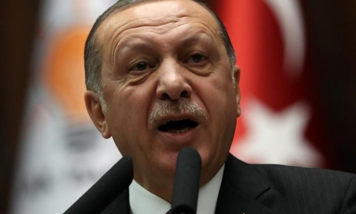 Turkish President Erdogan promises to 'drown' new Syrian Kurdish border security force