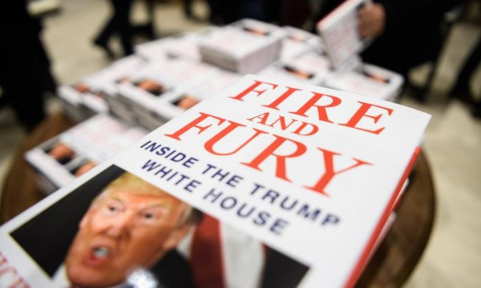 Michael Wolff's Fire and Fury book about Donald Trump to become TV series