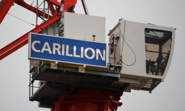 Construction giant Carillion enters compulsory liquidation