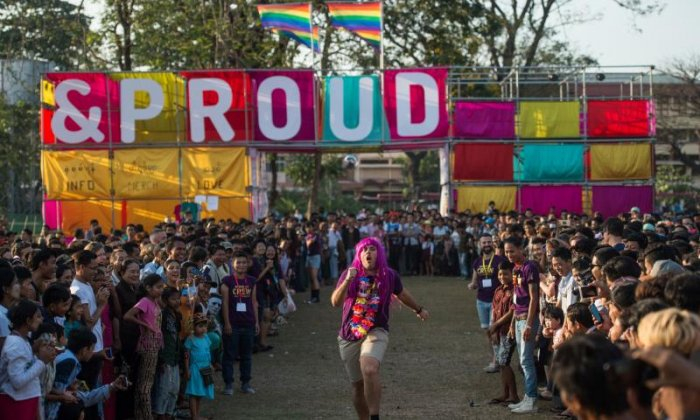 First-ever public LGBT festival held in Myanmar