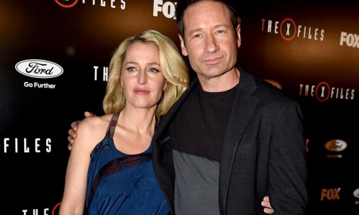 Gillian Anderson says she only decided to stay on X-Files out of curiosity