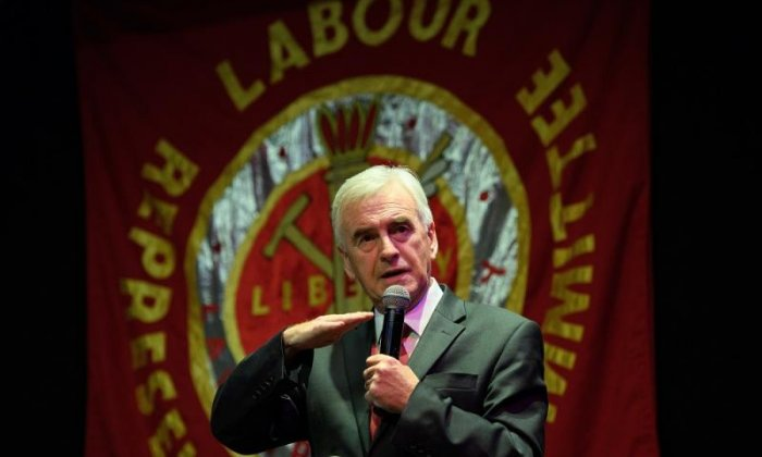 John McDonnell has been heavily criticised for his comments about Esther McVey