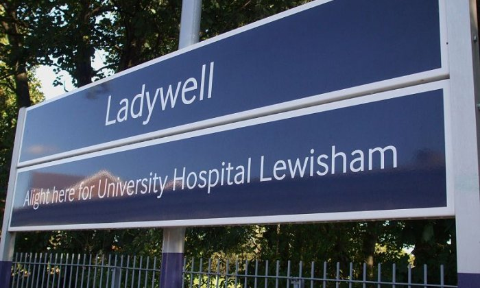 The incident happened in Ladywell, south-east London