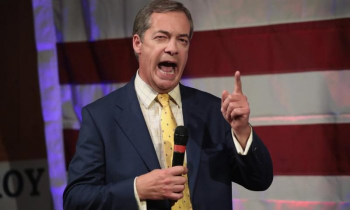 Nigel Farage has suggested he would support a second referendum