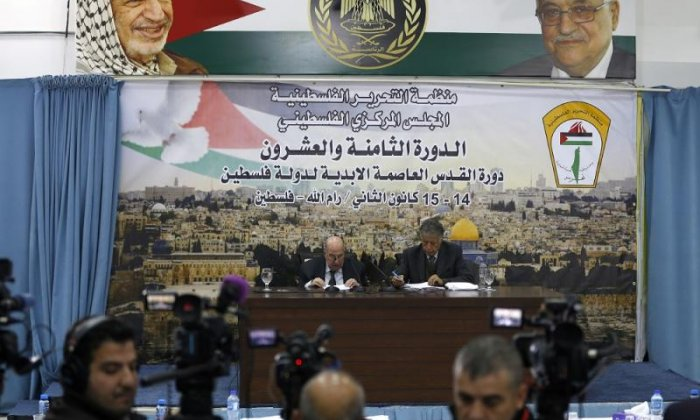Palestinian leaders reached the resolution as a meeting last night