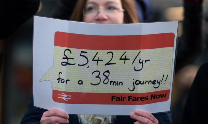 Commuters are furious at the latest rail fares increases