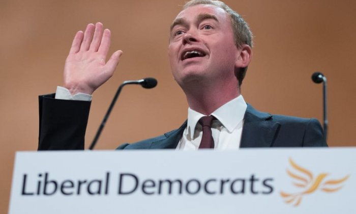 Tim Farron has performed a u-turn regarding his beliefs on gay sex