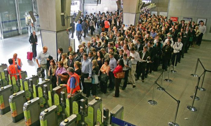 Passengers across Britain face chaos today