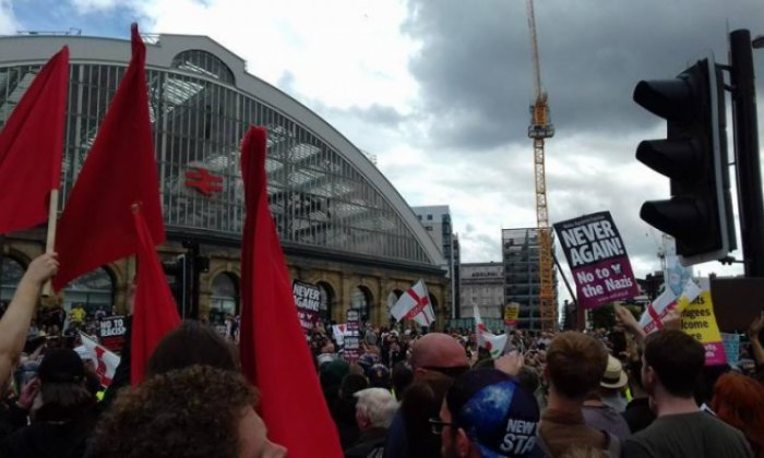 The UAF has promised to oppose tomorrow's counter-demo (Facebook/UAF)
