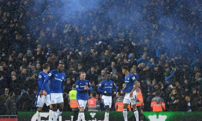 Everton secured a 1-1 draw at Anfield in December