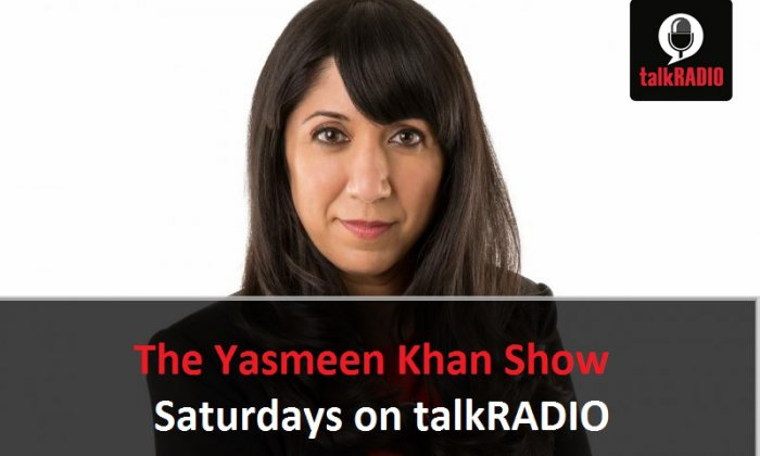 Yasmeen Khan covered a veritable cornucopia of topics on her show