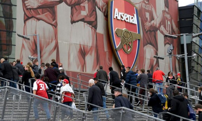 Arsenal fans have faced scrutiny for their behaviour yesterday