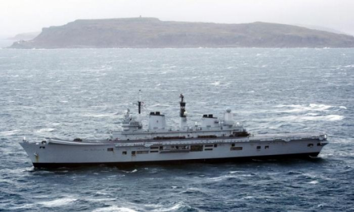 Navy warship to sail through disputed sea