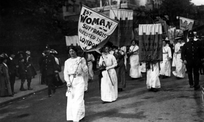 Arguments against the suffragettes just don't seem to add up