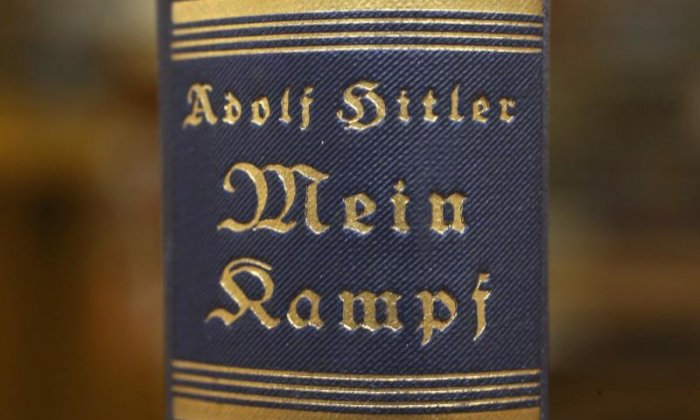 Police discover Adolf Hitler's Mein Kampf in home of alleged drive-by shooter