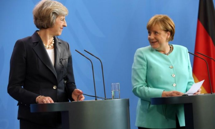 Brexit: Theresa May to hold talks with Angela Merkel ahead of speech