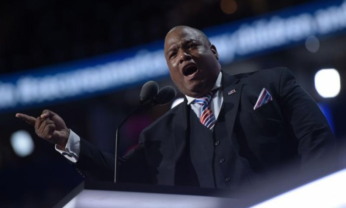 Pastor Mark Burns claims he'll become the 'first real black' US President