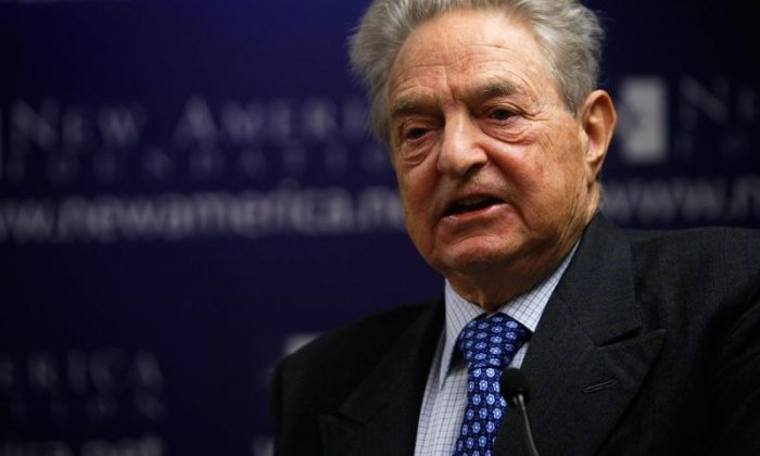 George Soros defends £400000 donation to pro-EU campaign Best for Britain