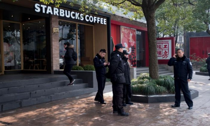 Van Crash Outside Shanghai Starbucks Injures at Least 18