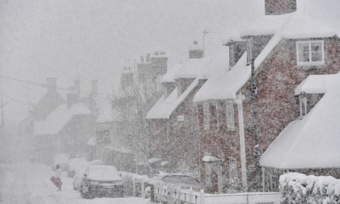 How did the Beast from the East come to rage across the UK?