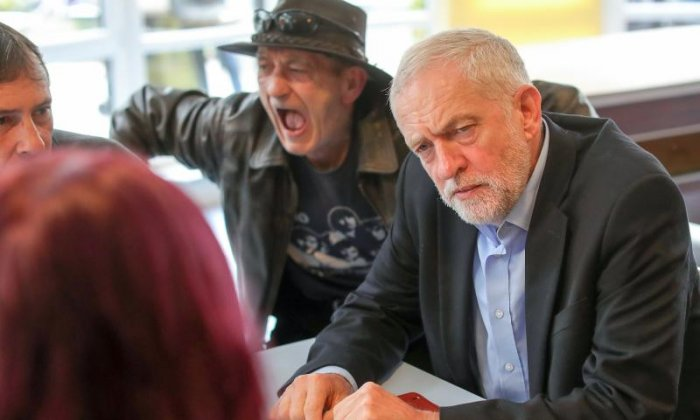 Jeremy Corbyn has said the Communist spy allegations are totally without foundation