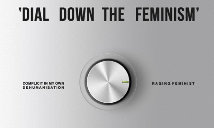 Student told to 'dial down the feminism' creates amazing artwork in response