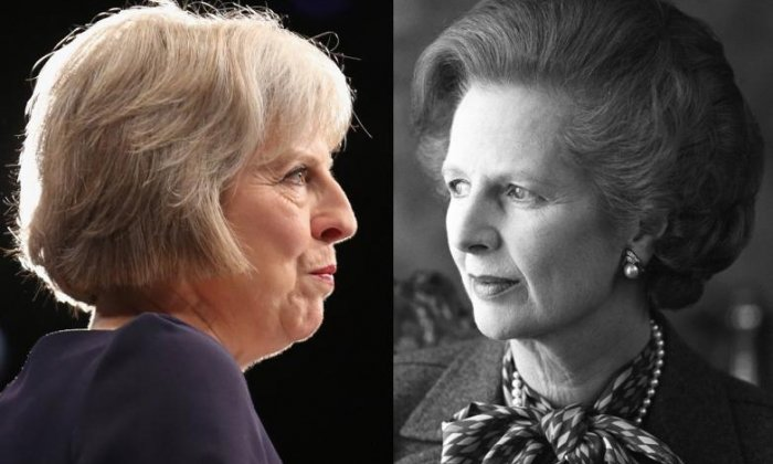 Theresa May should take a leaf out of Margaret Thatcher's book, says Lord Tebbit