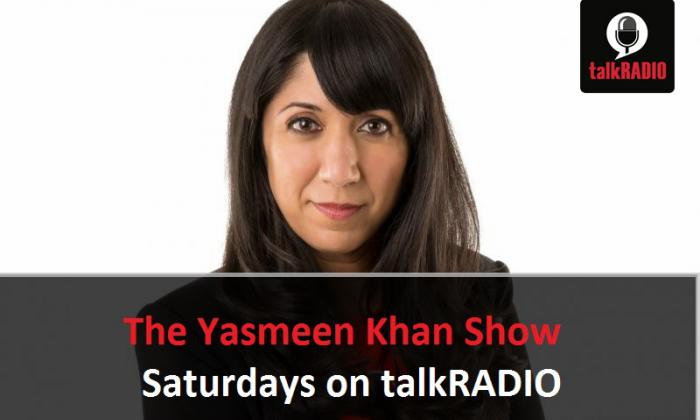 'Shetland' star Douglas Henshall was special guest on Yasmeen's latest show