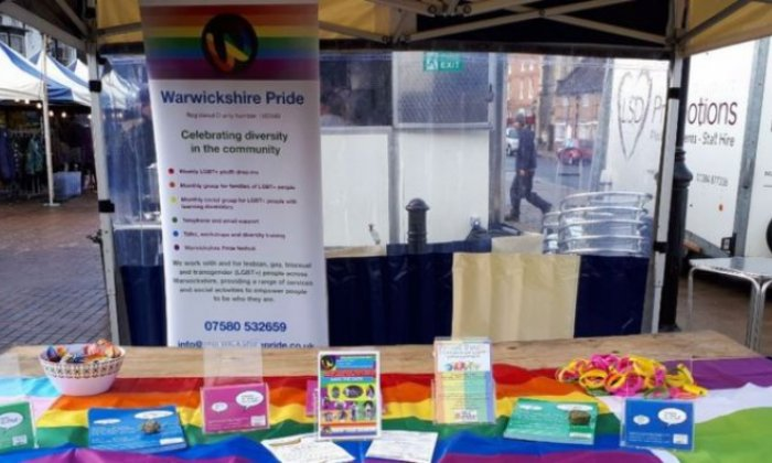 LGBT fundraisers subjected to 'more than 100 hate incidents whilst working on market stall'
