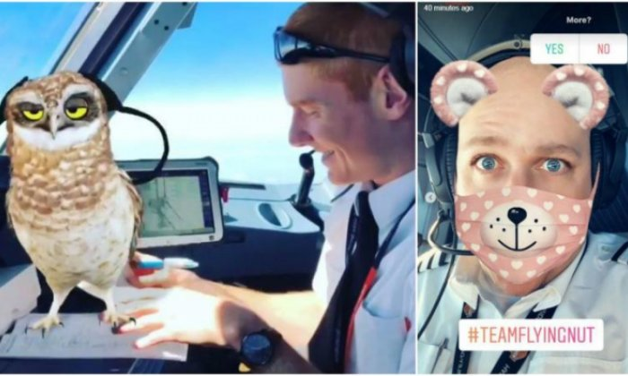 "An easyJet spokesperson stressed the safety of the passengers ""was at no point"" compromised by the Snapchat pilots"