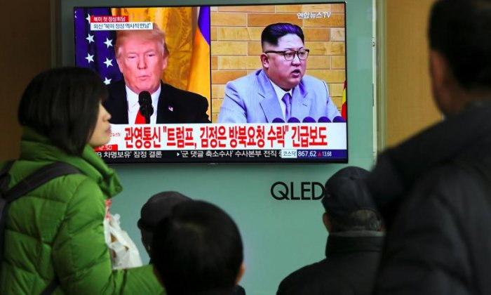 Trump is due to sit down with Kim Jong-un for talks