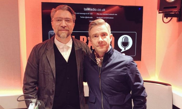 Martin Freeman reveals his jealously, first crush and what he's most proud of
