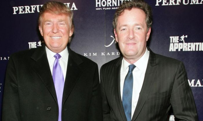 Piers Morgan: I've been able to change Donald Trump's mind