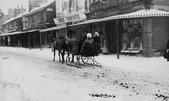 In the past the UK has dealt with snow in some rather interesting ways, scroll through the gallery to see more