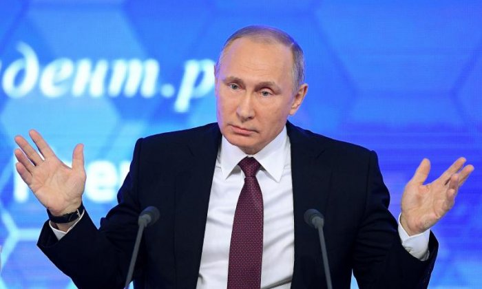 I don't care, says Putin on alleged U.S.  election interference