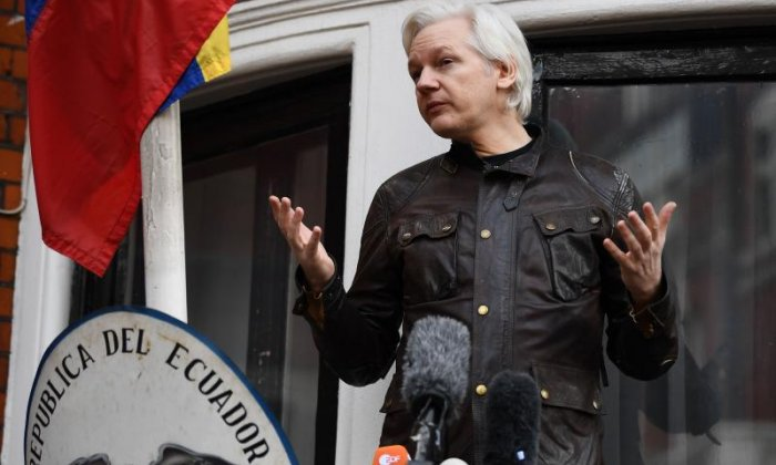 Assange has been living in the embassy since June 2012