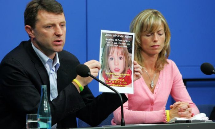 Kate and Gerry McCann said they were incredibly grateful for the continued investigation