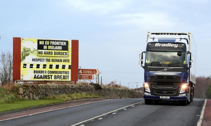 'They don't want a hard border, we don't want a hard border, nor does the EU', says the Conservative MP