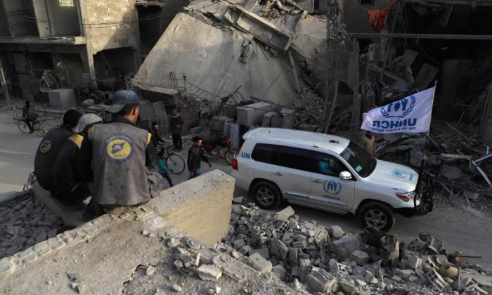 80 killed on Monday in Syria's Ghouta